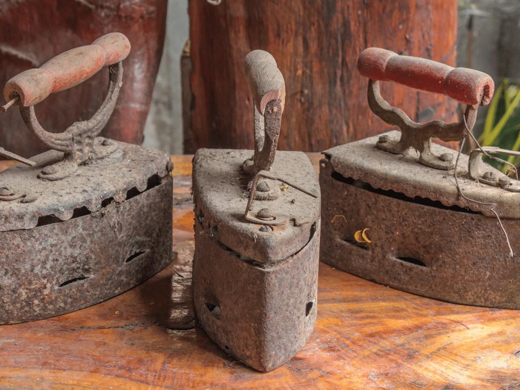 Comment trouver les origines du fer à repasser ?